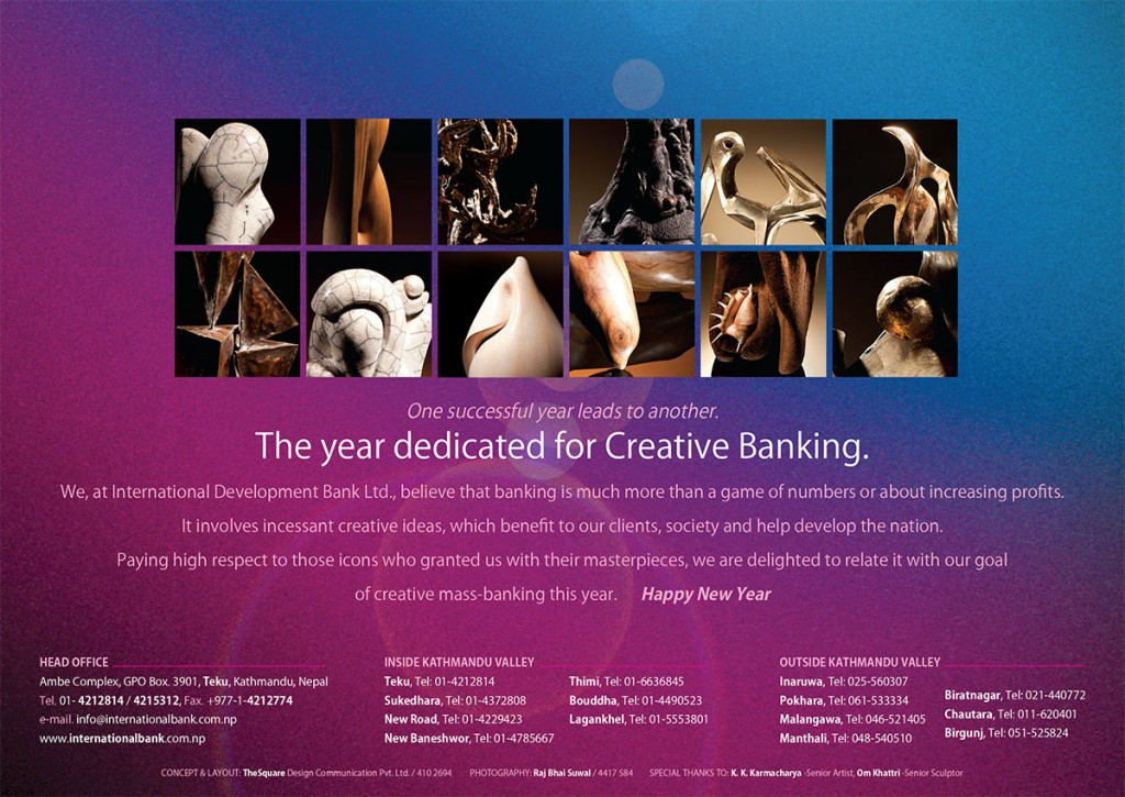 creative, exclusive, inspirational, corporate desk calendar - page1